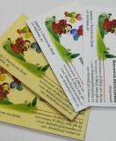 Визитки для детского сада